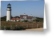 Cape Cod Light Greeting Card