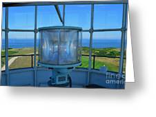 Cape Cod Lighthouse View Greeting Card
