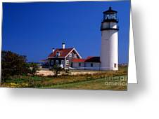 Cape Cod Or Highland Lighthouse Greeting Card