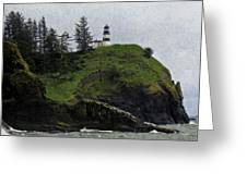 Cape Disappointment  Greeting Card