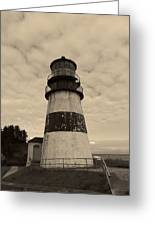 Cape Disappointment Lighthouse 2 Greeting Card