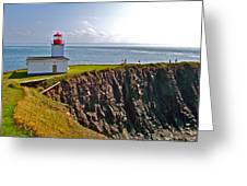 Cape D'or Lighthouse-ns Greeting Card