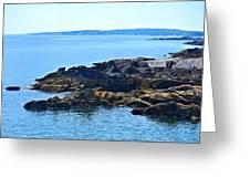 Cape Elizabeth Coast Greeting Card