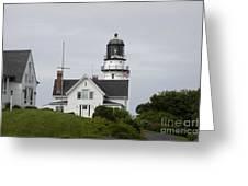 Cape Elizabeth Light II Greeting Card