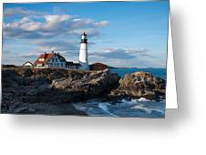 Cape Elizabeth Lighthouse Greeting Card