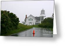 Cape Elizabeth On A Rainy Day- Maine Greeting Card