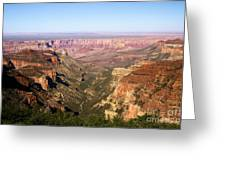 Cape Final Canyon View Greeting Card