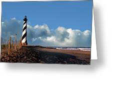 Cape Hatteras Lighthouse Nc Greeting Card