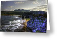 Cape Hedo Hdr Greeting Card