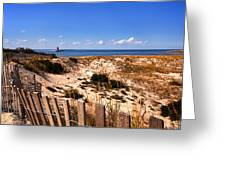 Cape Henlopen Overlook Greeting Card
