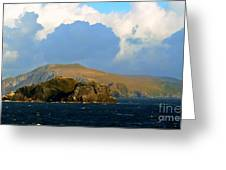 Cape Horn Greeting Card