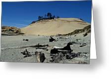 Cape Kiwanda Sand Dune Greeting Card
