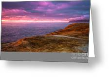 Cape Kiwanda Sunset Greeting Card