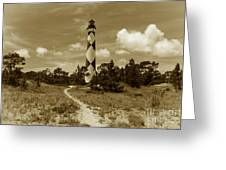 Cape Lookout Greeting Card