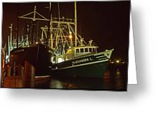Cape May Fishing Fleet Greeting Card