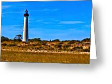 Cape May Lighthouse Greeting Card