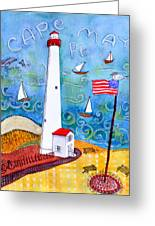 Cape May Point Lighthouse Greeting Card