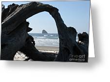 Cape Meares Framed Greeting Card