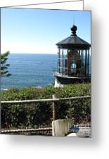 Cape Meares Lighthouse 1 Greeting Card