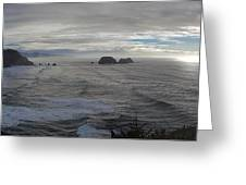 Cape Mears Storms Greeting Card