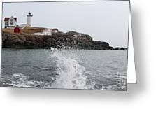 Cape Neddick - Nubble Light 4 Greeting Card