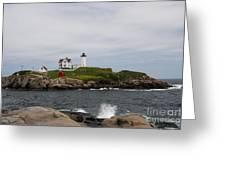 Cape Neddick - Nubble Lighthouse Greeting Card