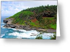 Cape Of Makapili  Greeting Card