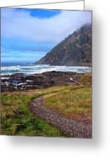 Cape Perpetua Path Greeting Card