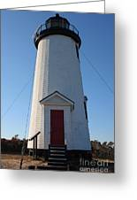 Cape Poge Lighthouse Greeting Card
