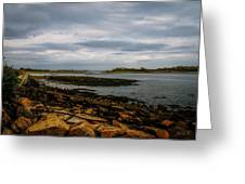 Cape Porpoise Maine - After The Rain Greeting Card by Bob Orsillo