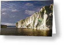 Cape Roget Antarctica In The Midnight Sun Greeting Card