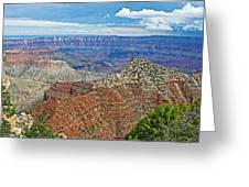 Cape Royal Two On North Rim Of Grand Canyon-arizona Greeting Card