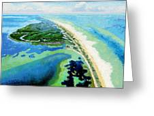 Cape San Blas Florida Greeting Card