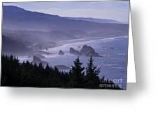 Cape Sebastian Greeting Card
