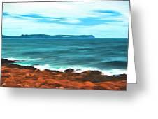 Cape Spear Shoreline Greeting Card