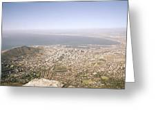 Cape Town Panoramic Greeting Card