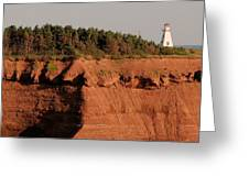 Cape Tryon Light Greeting Card