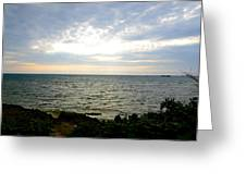 Cape Zampa Sunset Greeting Card