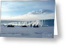 Capeevans-antarctica-g.punt-7 Greeting Card