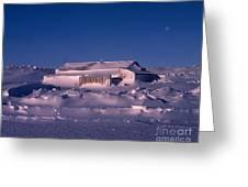 Capeevanshut-antarctica-g.punt-4 Greeting Card
