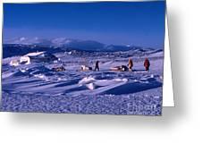 Capeevanshut-antarctica-g.punt-6 Greeting Card