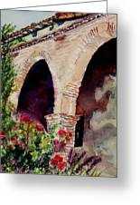 Capistrano Arches Greeting Card