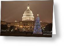 Capitol Christmas Greeting Card