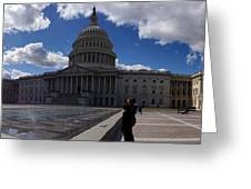 Capitol Early Spring Greeting Card