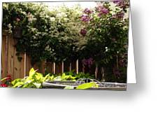 Capitol Hill Secret Garden Greeting Card