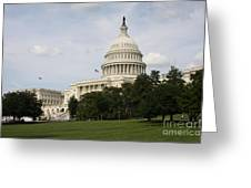Capitol Hill Washington Dc Greeting Card