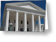 Capitol Pillars - Richmond Greeting Card