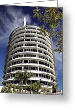 Capitol Records Building 2 Greeting Card