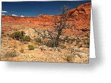 Capitol Reef Cliffs Greeting Card
