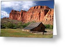 Capitol Reef Homestead Greeting Card